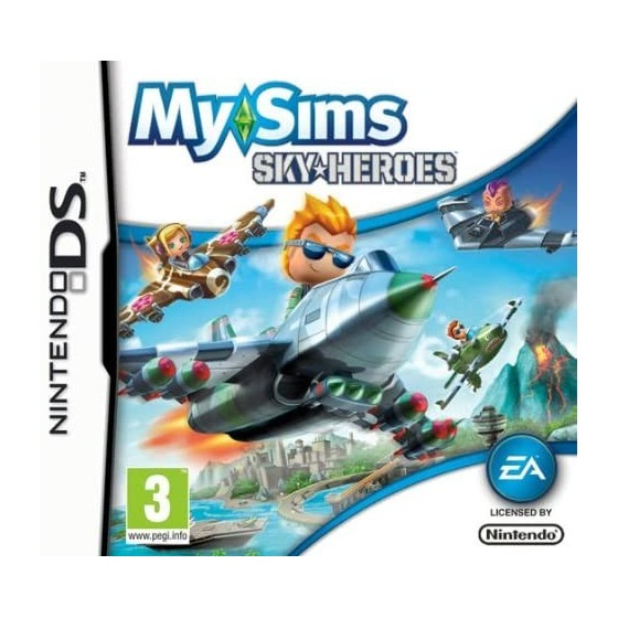 My Sims Skyheroes - DS usato