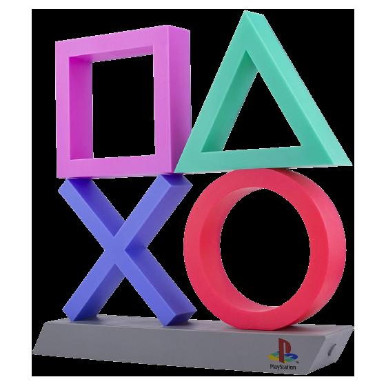 Paladone - lampada Playstation incons