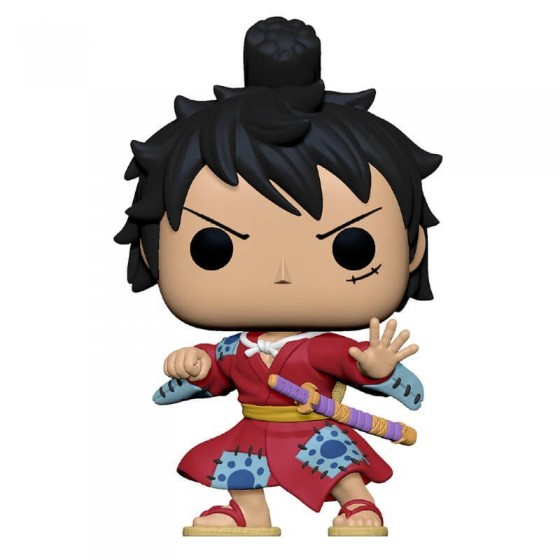 Funko Pop - One Piece - Luffy in Kimono - Pop Animation - The Gamebusters