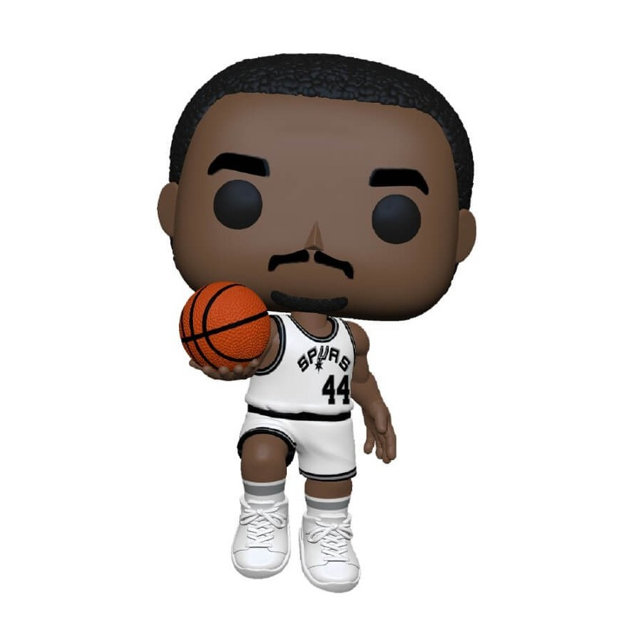 Funko Pop - NBA - Legends - George Gervin (Spurs in casa) - The Gamebusters