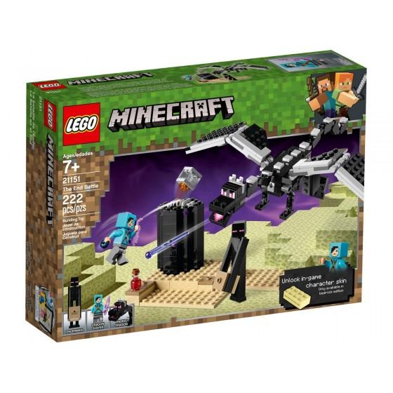 LEGO - Minecraft - La Battaglia dell'End - 21151 - The Gamebusters