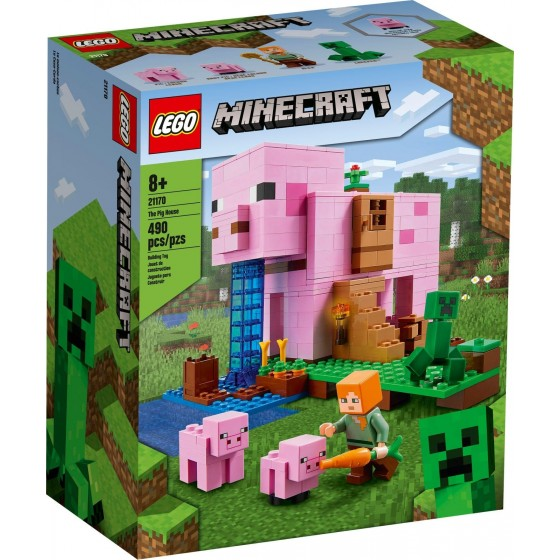LEGO - Minecraft - La Pig House - 21170 - The Gamebusters