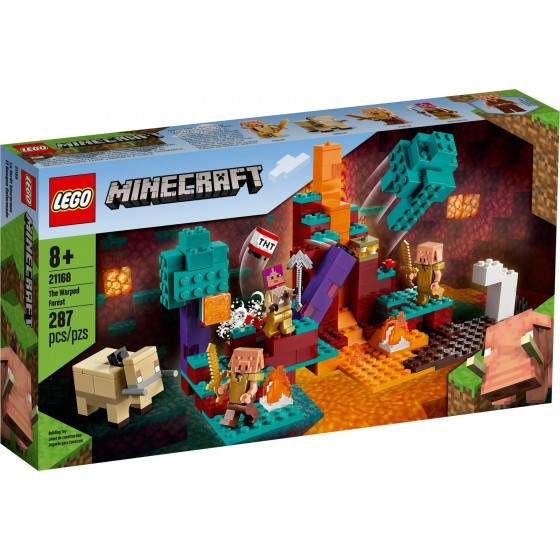 LEGO - Minecraft - La Warped Forest - 21168 - The Gamebusters