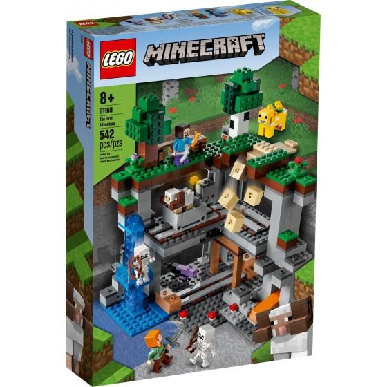 LEGO - Minecraft - La Prima Avventura - 21169 - The Gamebusters