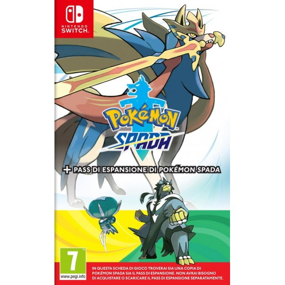 Pokemon Spada + Pass di Espansione - Switch - The Gamebusters