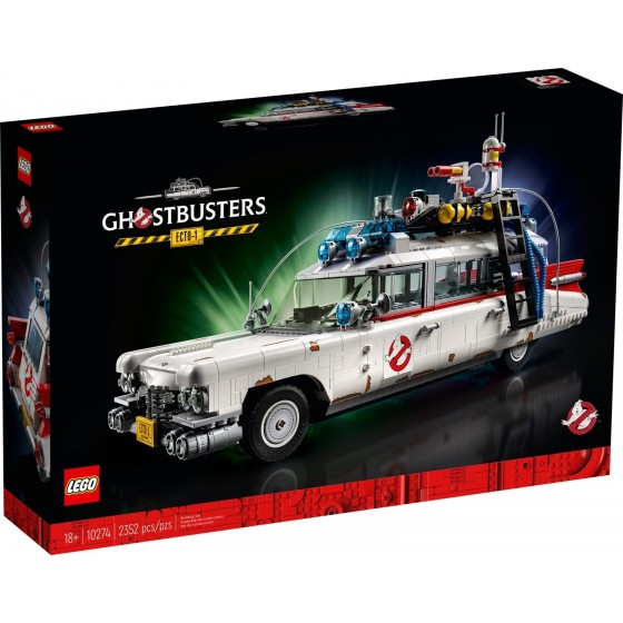 LEGO - Ghostbusters - ECTO-1 - 10274 - The Gamebusters 1