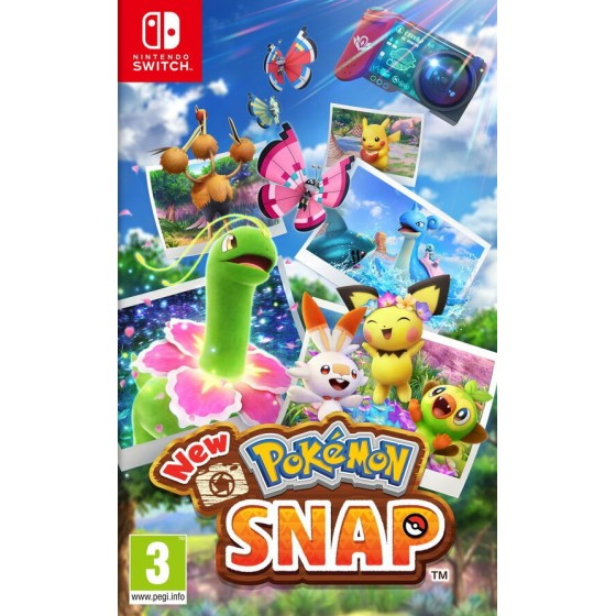Switch - New Pokemon Snap - The Gamebusters