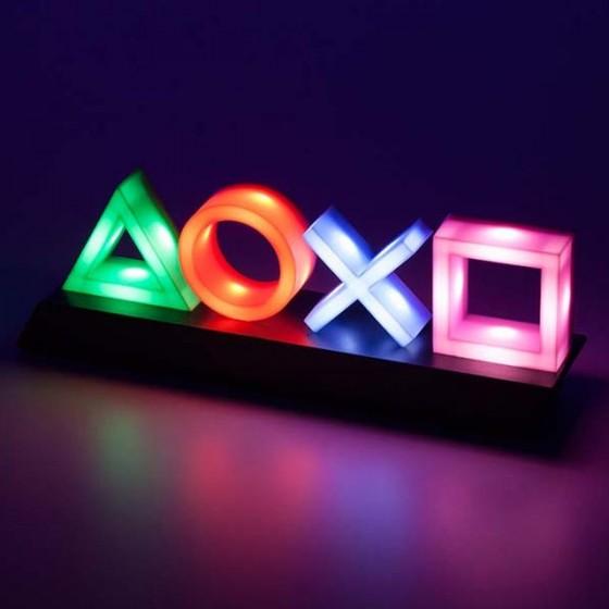 Paladone - Lampada Playstation Icons Multicolore