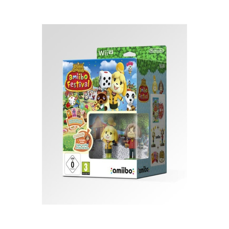 Animal Crossing Amiibo Festival - Limited Edition - WiiU