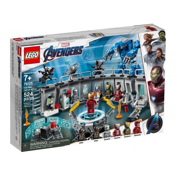LEGO - Marvel - Sala delle Armature di Iron Man - 76125 - The Gamebusters 1