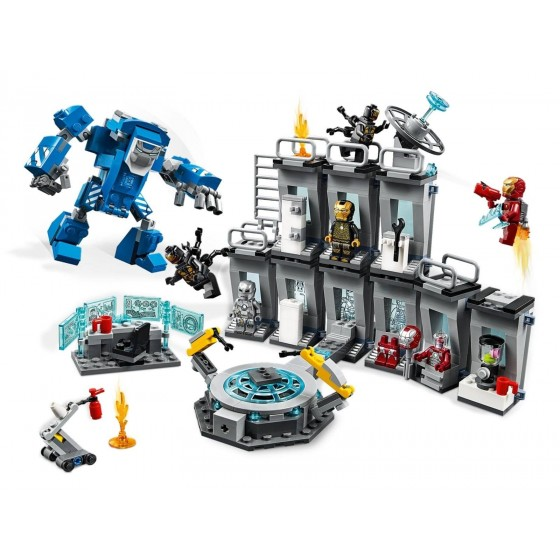LEGO - Marvel - Sala delle Armature di Iron Man - 76125