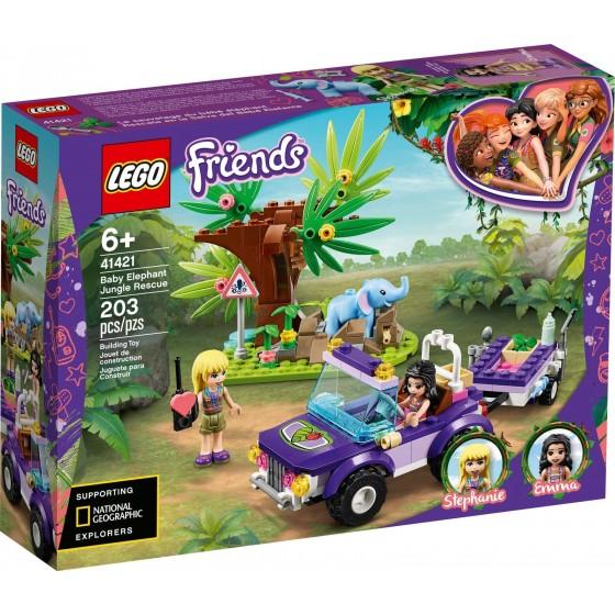 LEGO - Friends - Salvataggio nella giungla dell'elefantino - 41421 - The Gamebusters 1