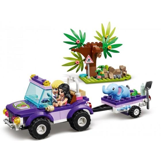 LEGO - Friends - Salvataggio nella giungla dell'elefantino - 41421