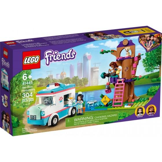 LEGO - Friends - L'ambulanza della clinica veterinaria - 41445 - The Gamebusters 1