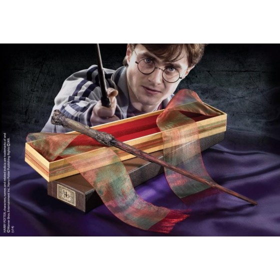 The Noble Collection Replica - Bacchetta di Harry Potter (Deluxe Edition) - Harry Potter 1