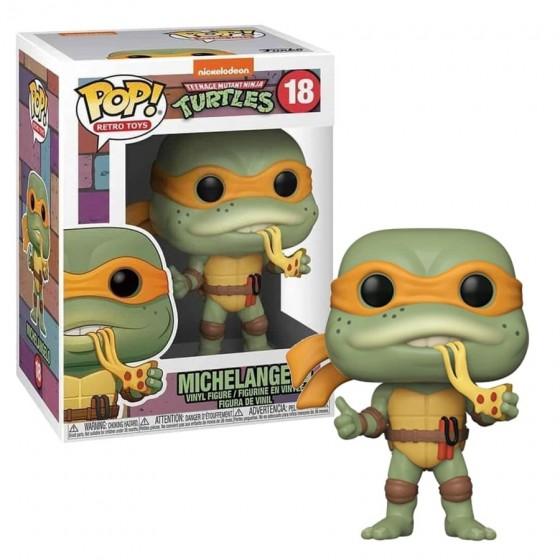 Funko Pop - Michelangelo (18) - Tartarughe Ninja