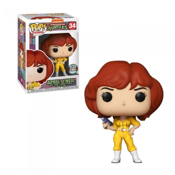 Funko Pop - April O' Neil (34) - Tartarughe Ninja - The Gamebusters