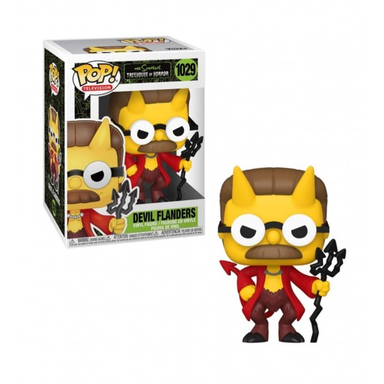 Funko Pop - Devil Flanders (1029) - The Simpsons - The Gamebusters