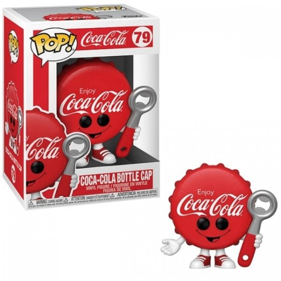 Funko Pop - Coca-Cola Bottle Cap (79) - Coca-Cola