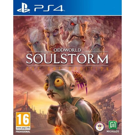 Oddworld: Soulstorm - PS4 - The Gamebusters