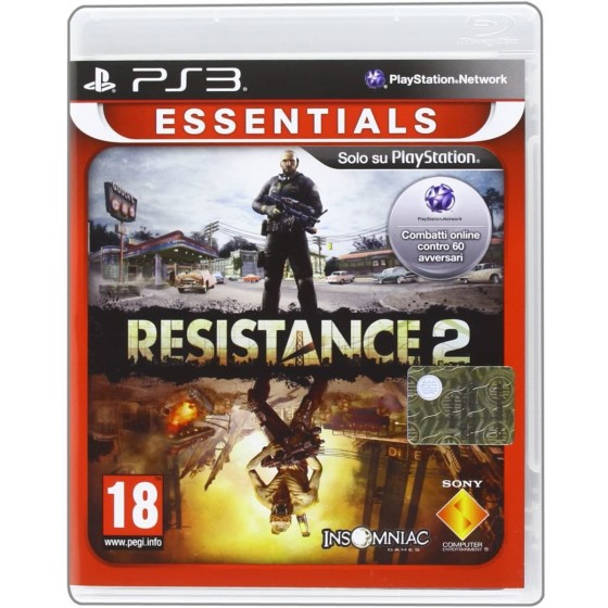 Resistance 2 - Essentials - PS3 - The Gamebusters