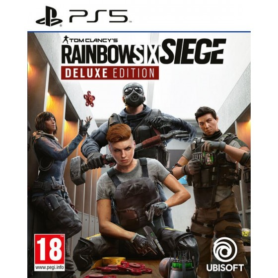 Tom Clancy's Rainbow Six Siege - Deluxe Edition - PS5 - The Gamebusters