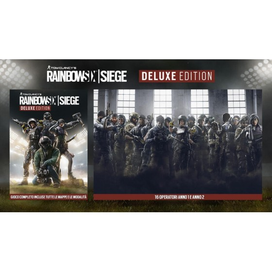 Tom Clancy's Rainbow Six Siege - Deluxe Edition - Xbox One / Series X