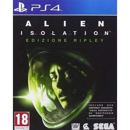 Alien Isolation - Nostromo Edition - PS4 usato