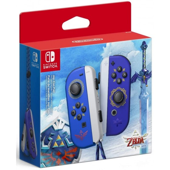 Joy-Con Controller Set - The Legend of Zelda: Skyward Sword - Switch - The Gamebusters