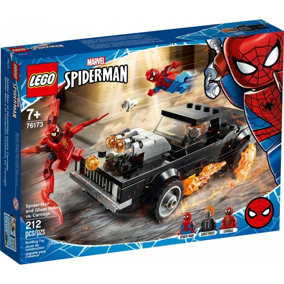 LEGO - Marvel - Spider-Man e Ghost Rider vs. Carnage - 76173 - The Gamebusters