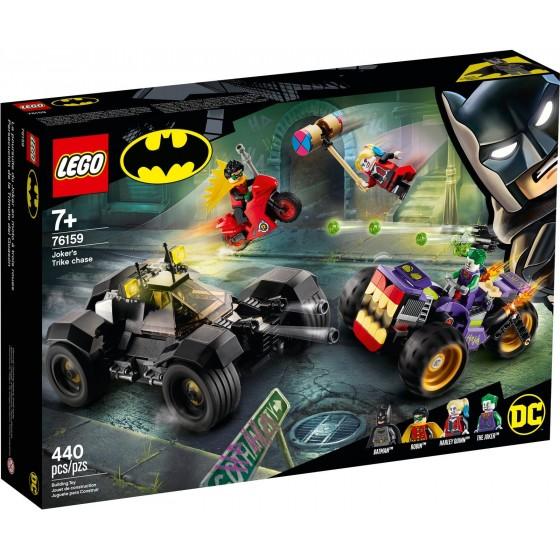 LEGO - Batman - All'inseguimento del tre-ruote di Joker - 76159 - The Gamebusters