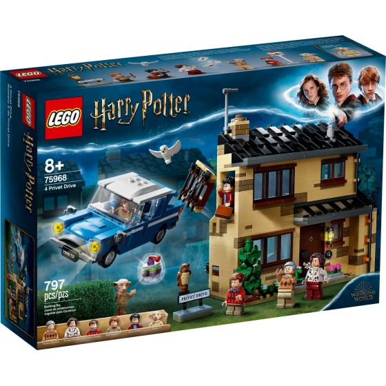 LEGO - Harry Potter - 4 Privet Drive - 75968 - The Gamebusters