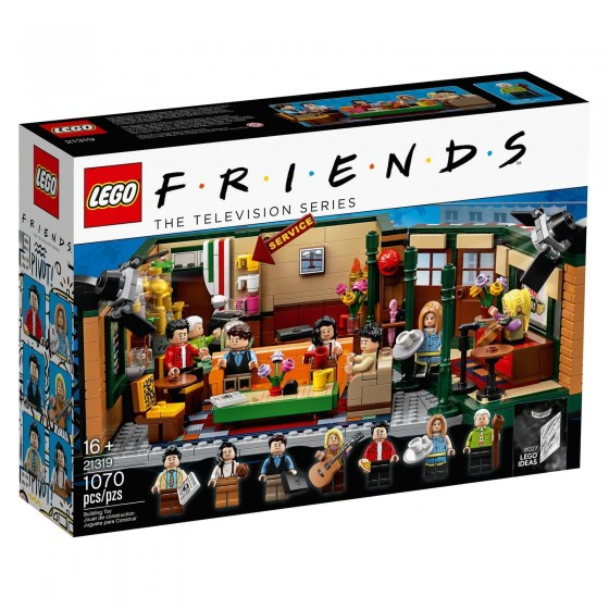 LEGO - Ideas - Central Perk - 21319 - The Gamebusters