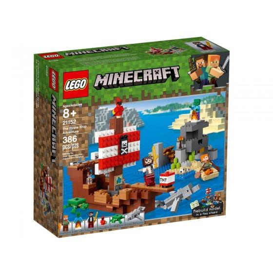 LEGO - Minecraft - Avventura sul galeone dei pirati - 21152 - The Gamebusters