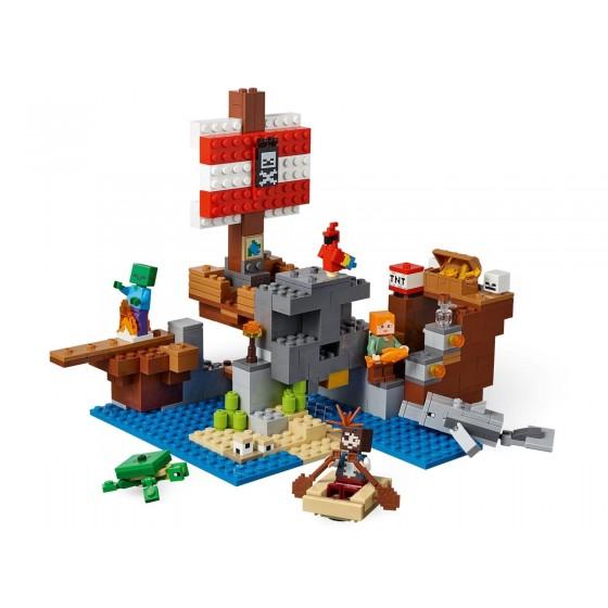 LEGO - Minecraft - Avventura sul galeone dei pirati - 21152