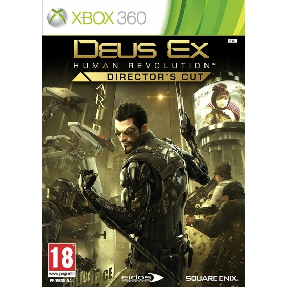 Deus Ex: Human Revolution - Director's Cut - Xbox 360 - The Gamebusters
