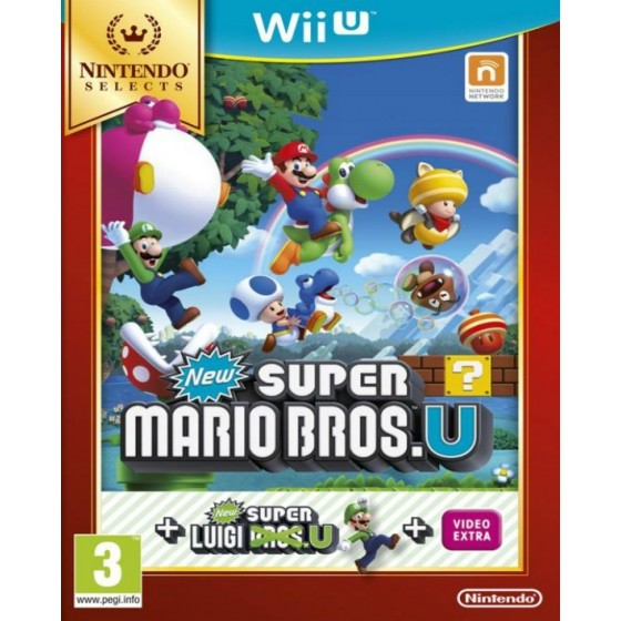 New Super Mario Bros U + Luigi Select