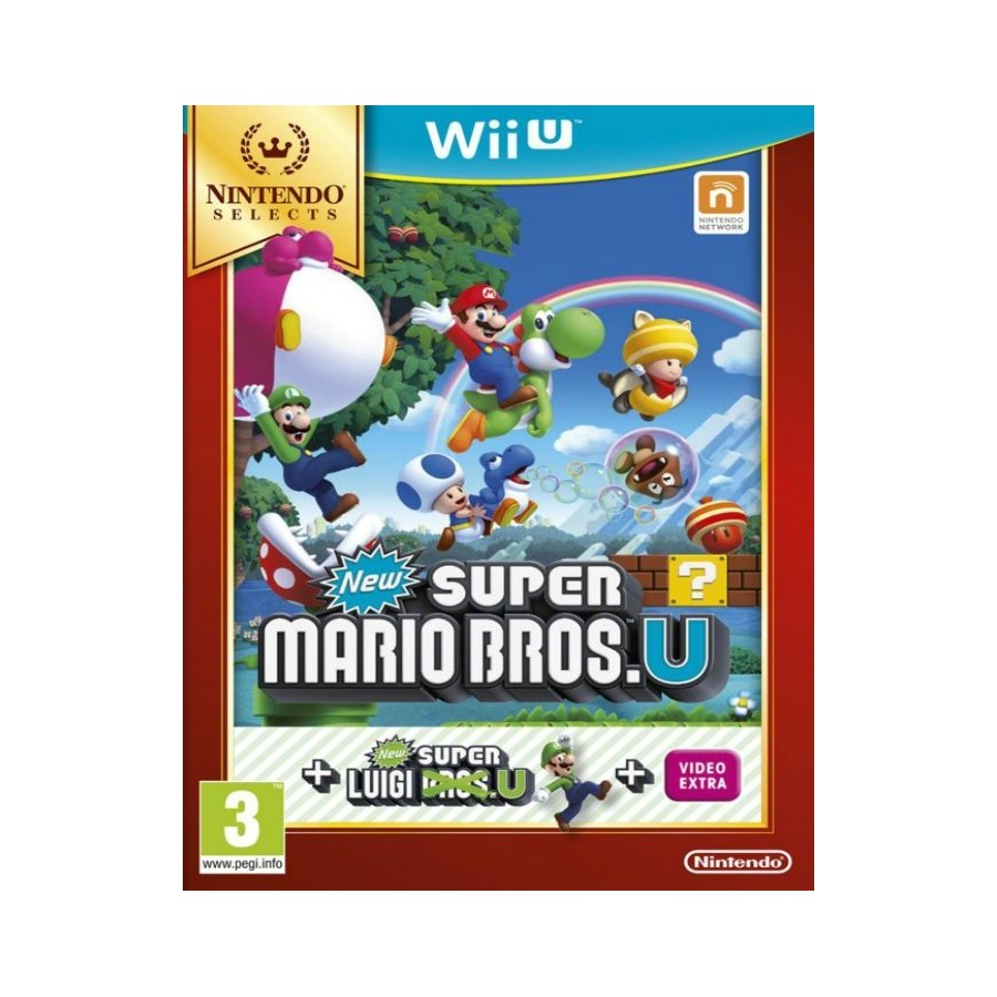 New Super Mario Bros U