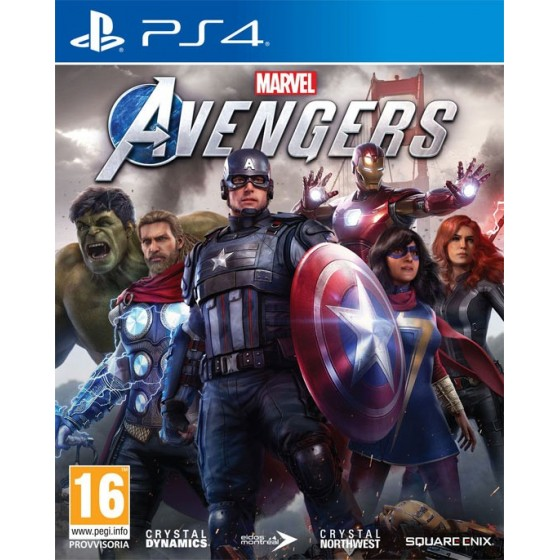 Marvel's Avengers - PS4 - The Gamebusters