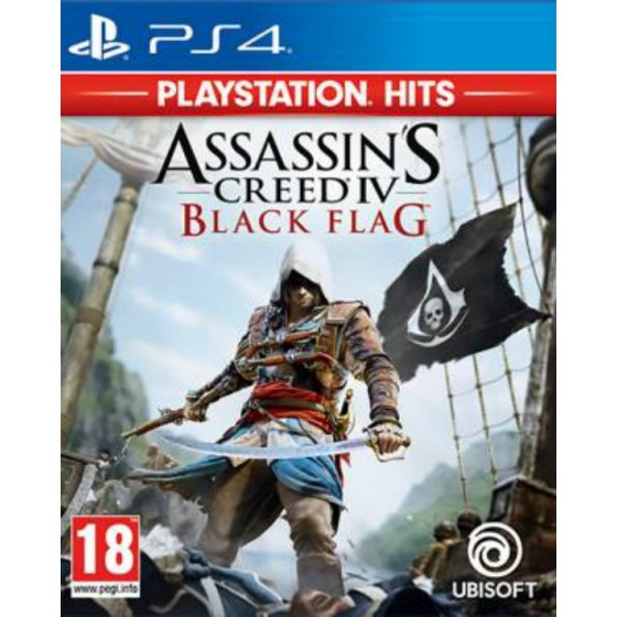 Assassin's Creed IV Black Flag - Playstation Hits - PS4 usato
