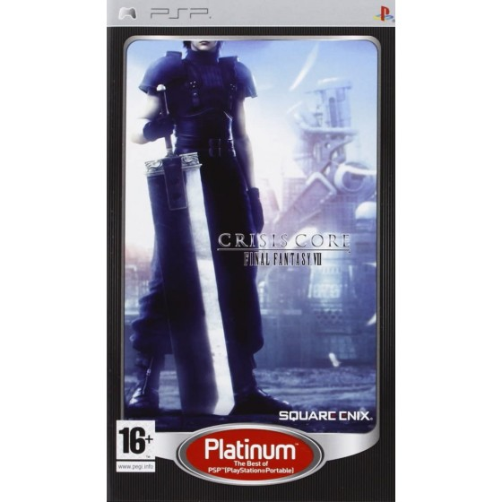 Crisis Core: Final Fantasy VII - Platinum - PSP