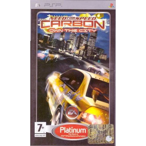 Need For Speed Carbon - Platinum - PSP