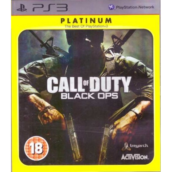 Call of Duty: Black Ops - Platinum - PS3
