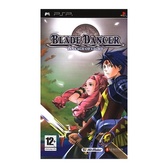 Blade Dancer: Lineage of Light - PSP - The Gamebusters