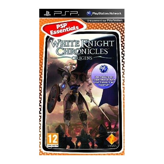 White Knight Chronicles Origins - Essentials - PSP - The Gamebusters