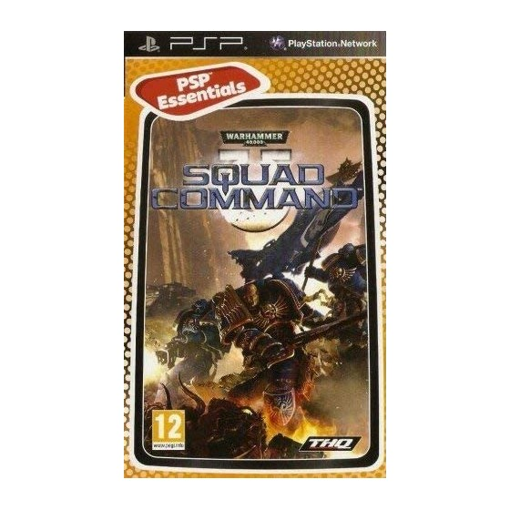 Warhammer 40.000: Squad Command - Essentials - PSP - The Gamebusters