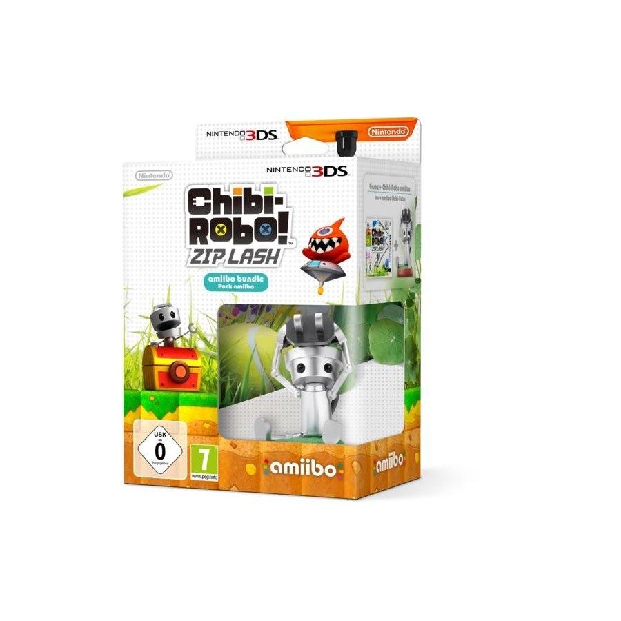Chibi Robo Zip Lash Amiibo Bundle - 3DS