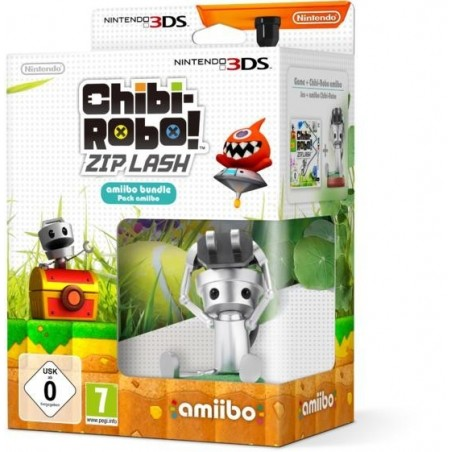 Chibi Robo Zip Lash con Amibo