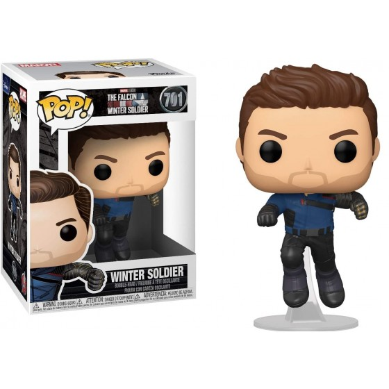 Funko Pop - Winter Soldier (701) - The Falcon & Winter Soldier - The Gamebusters
