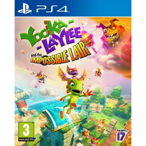 Yooka - Laylee And The Impossible Lair  - Preorder PS4  - The Gamebusters